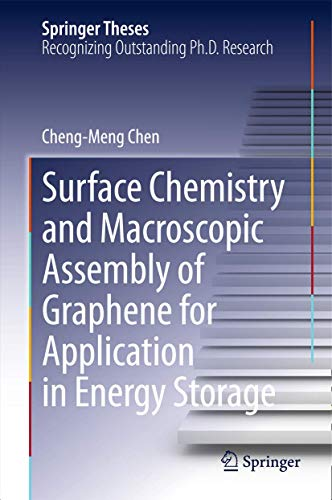 9783662486740: Surface Chemistry and Macroscopic Assembly of Graphene for Application in Energy Storage (Springer Theses)