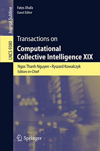 Transactions on Computational Collective Intelligence XIX (Lecture