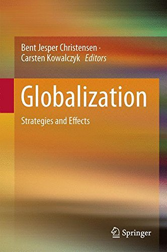9783662495001: Globalization: Strategies and Effects