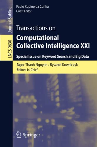 Transactions on Computational Collective Intelligence XXI: Special