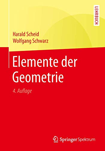9783662495506: Elemente der Geometrie (German Edition)