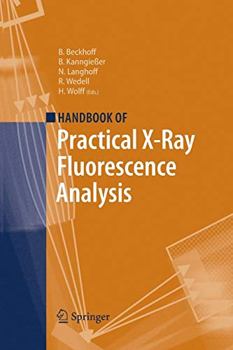 9783662496015: Handbook of Practical X-Ray Fluorescence Analysis