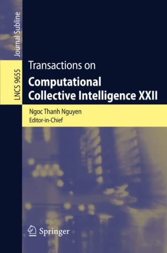Transactions on Computational Collective Intelligence XXII (Lecture