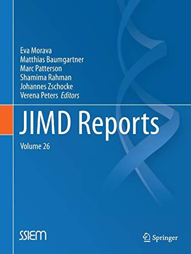 JIMD Reports, Volume 26: Springer