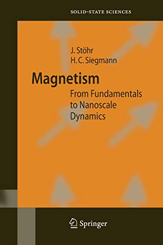 9783662499740: Magnetism: From Fundamentals to Nanoscale Dynamics (Springer Series in Solid-State Sciences)