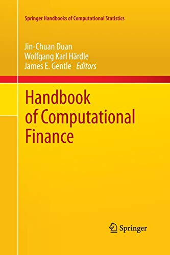 9783662507070: Handbook of Computational Finance (Springer Handbooks of Computational Statistics)