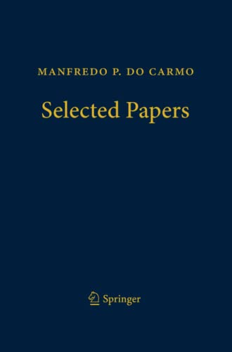 9783662508176: Manfredo P. do Carmo - Selected Papers