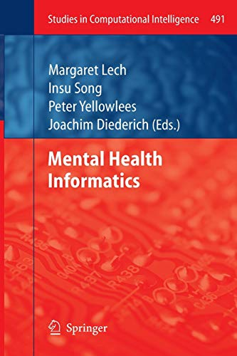 Mental Health Informatics (Studies in Computational Intelligence): Springer