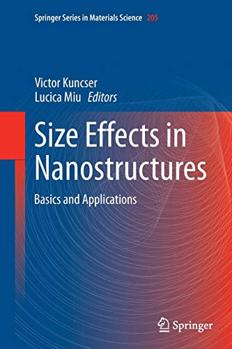 9783662510216: Size Effects in Nanostructures: Basics and Applications (Springer Series in Materials Science)