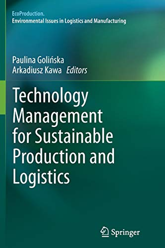 9783662511077: Technology Management for Sustainable Production and Logistics (EcoProduction)