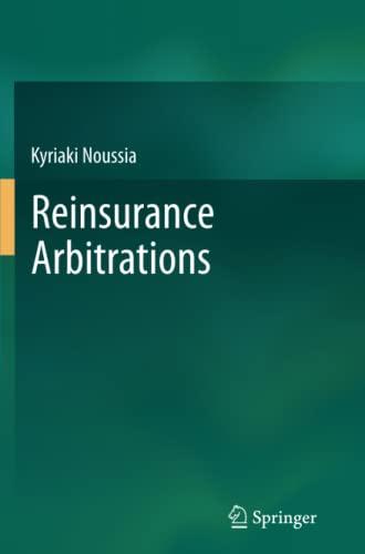 9783662514658: Reinsurance Arbitrations