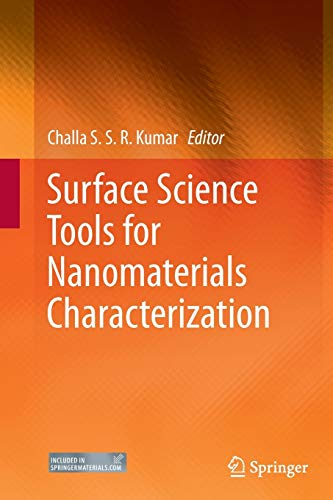 9783662515471: Surface Science Tools for Nanomaterials Characterization