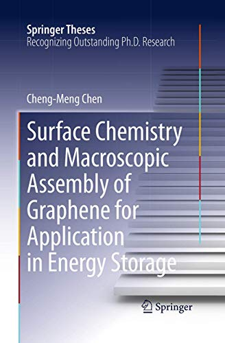 9783662517246: Surface Chemistry and Macroscopic Assembly of Graphene for Application in Energy Storage (Springer Theses)