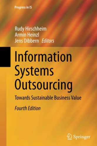 9783662517574: Information Systems Outsourcing: Towards Sustainable Business Value (Progress in IS)