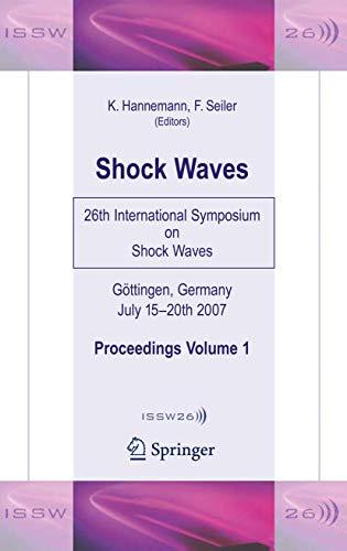 Shock Waves: Klaus Hannemann