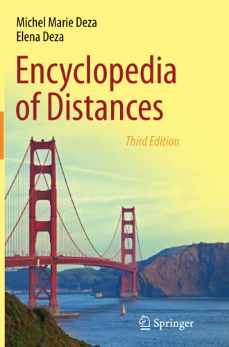 9783662518687: Encyclopedia of Distances