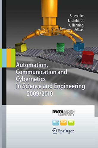 9783662520130: Automation, Communication and Cybernetics in Science and Engineering 2009/2010