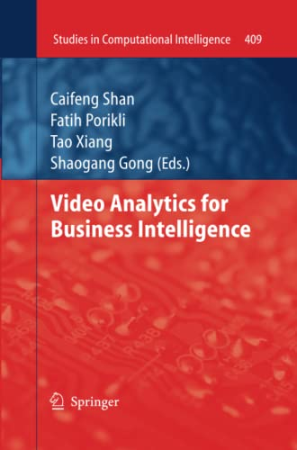 9783662520284: Video Analytics for Business Intelligence (Studies in Computational Intelligence)
