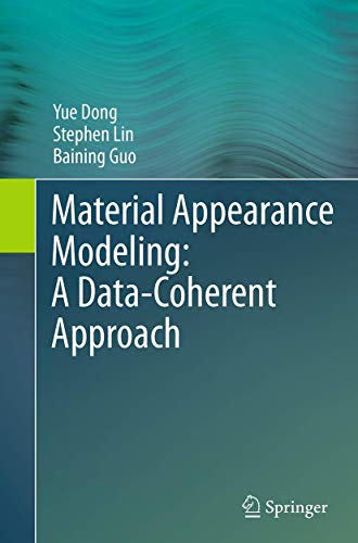 9783662523629: Material Appearance Modeling: A Data-Coherent Approach