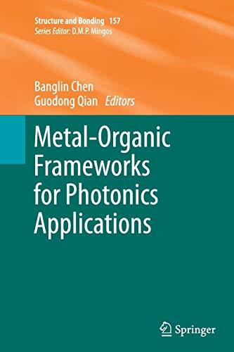 Metal-organic Frameworks for Photonics Applications: Chen, Banglin (Editor)/ Qian, Guodong (Editor)