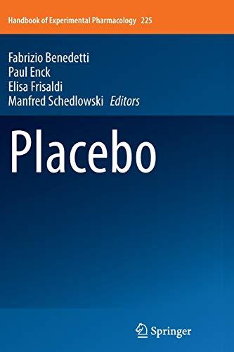 Placebo: Benedetti, Fabrizio (Editor)/