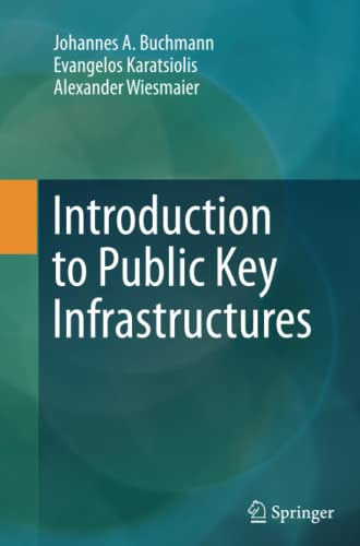 9783662524503: Introduction to Public Key Infrastructures