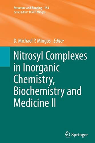 9783662524855: Nitrosyl Complexes in Inorganic Chemistry, Biochemistry and Medicine II (Structure and Bonding)