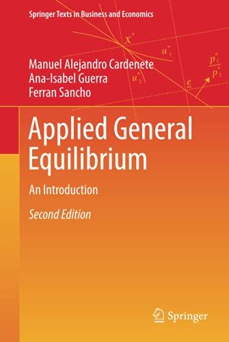 Imagen de archivo de Applied General Equilibrium: An Introduction a la venta por Revaluation Books