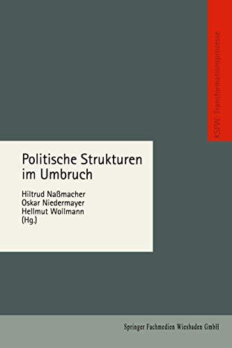 Politische Strukturen Im Umbruch