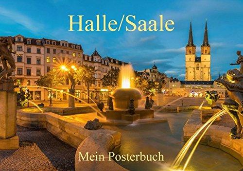 9783664109920: Halle/Saale im schönsten Licht - Posterbuch