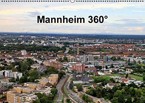 9783664118809: Mannheim 360° - Wandkalender 2016