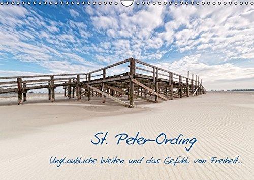9783664122998: St. Peter-Ording (Wandkalender 2016 DIN A3 quer): Unglaubliche Weiten und das Gefühl von Freiheit... (Monatskalender, 14 Seiten)