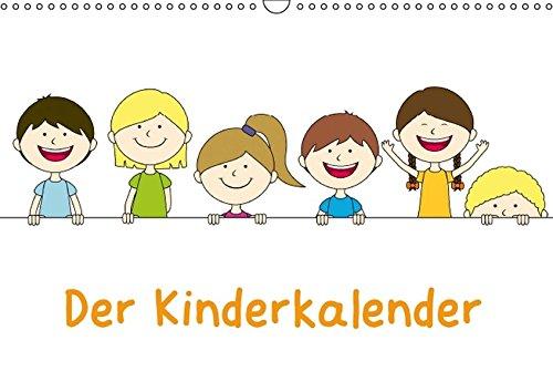 9783664126132: Der Kinderkalender (Wandkalender 2016 DIN A3 quer)