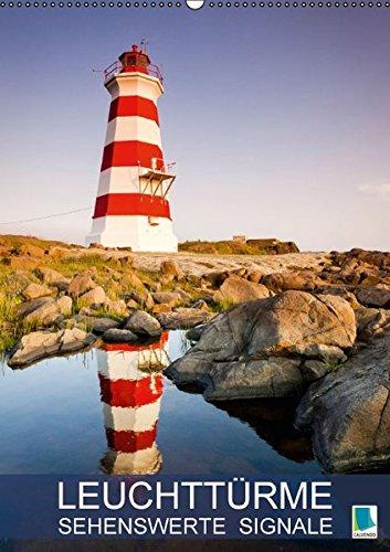 9783664129126: Leuchttürme: Sehenswerte Signale (Wandkalender 2016 DIN A2 hoch): Leuchttürme: Wegweiser an der Küste (Monatskalender, 14 Seiten)