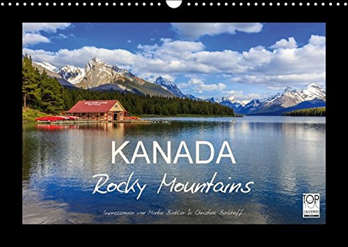 9783664133727: KANADA - Rocky Mountains - Wandkalender 2016
