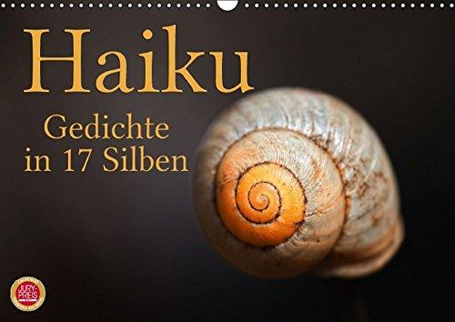 9783664136957: Haiku - Gedichte in 17 Silben (Wandkalender 2016 DIN A3 quer): Haiku, poetische Gedichte in 17 Silben (Monatskalender, 14 Seiten)