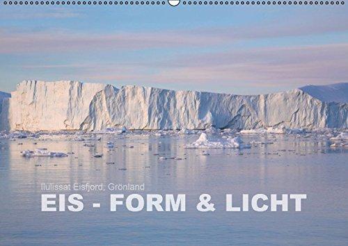 9783664137008: Ilulissat Eisfjord, Grönland. EIS - FORM UND LICHT (Wandkalender 2016 DIN A2 quer): Grönlands Eisberge in der Mitternachtssonne (Monatskalender, 14 Seiten)