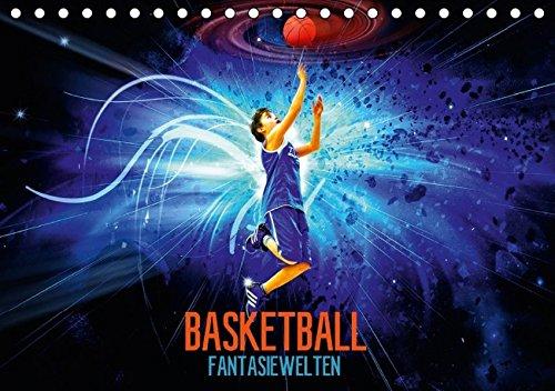 9783664143061: Basketball Fantasiewelten (Tischkalender 2016 DIN A5 quer): Kommen Sie mit auf eine Reise in fantastische Basketballwelten. (Monatskalender, 14 Seiten)