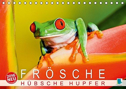 9783664144082: Frösche: Hübsche Hupfer (Tischkalender 2016 DIN A5 quer): Frösche: Farbenprächtige, verzauberte Prinzen (Monatskalender, 14 Seiten)