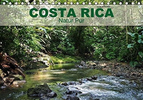 9783664147168: Costa Rica - Natur Pur (Tischkalender 2016 DIN A5 quer): Costa Rica ist das vollkommene Naturparadies zwischen Pazifik und Atlantik (Geburtstagskalender, 14 Seiten)