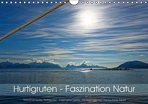 9783664150915: Hurtigruten - Faszination Natur (Wandkalender 2016 DIN A4 quer)