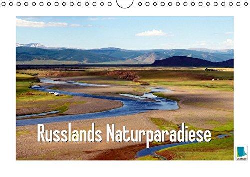 9783664154029: Russlands Naturparadiese (Wandkalender 2016 DIN A4 quer): Russlands Naturparadiese: eine Landschaft wie die russische Seele (Monatskalender, 14 Seiten)