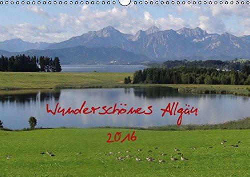 9783664155231: Wunderschönes Allgäu (Wandkalender 2016 DIN A3 quer): Das Allgäu in Oberschwaben (Monatskalender, 14 Seiten)