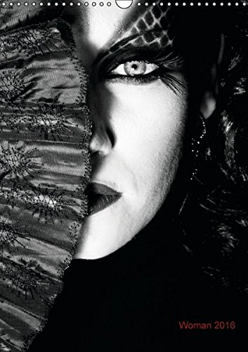 9783664159802: Woman 2016 (Wandkalender 2016 DIN A3 hoch): black and white (Monatskalender, 14 Seiten)