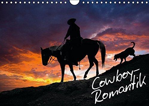 9783664162642: Cowboy-Romantik (Wandkalender 2016 DIN A4 quer): Der Traum vom Wilden Westen (Monatskalender, 14 Seiten)