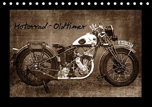 9783664165476: Motorrad Oldtimer (Tischkalender 2016 DIN A5 quer): Motorrad - Oldtimer (Monatskalender, 14 Seiten)