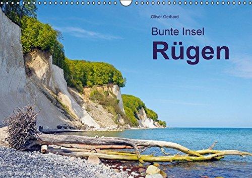 9783664166589: Bunte Insel R�gen (Wandkalender 2016 DIN A3 quer): Vom Kap Arkona bis zum M�nchgut (Monatskalender, 14 Seiten)