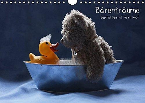 9783664180943: Bärenträume (Wandkalender 2016 DIN A4 quer): Geschichten mit Herrn Nopf (Monatskalender, 14 Seiten)