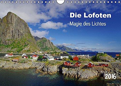 9783664189755: Die Lofoten - Magie des Lichtes (Wandkalender 2016 DIN A4 quer): Berge und Meer bilden eindrucksvolle Kulisse auf den n�rdlich des Polarkreises gelegenen Inseln (Monatskalender, 14 Seiten)