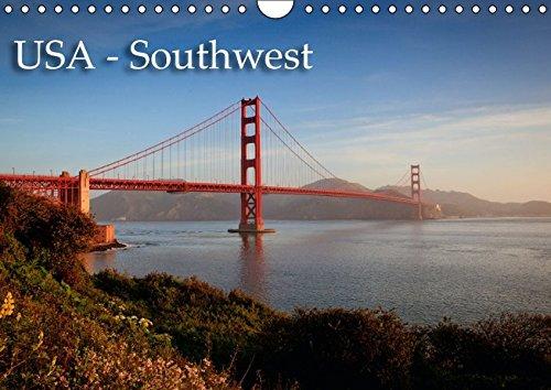 9783664192250: USA - Southwest (Wandkalender 2016 DIN A4 quer): Die Highlights des Südwestens der USA (Monatskalender, 14 Seiten)